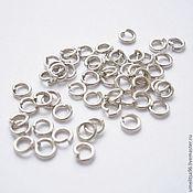 Материалы для творчества handmade. Livemaster - original item The connecting ring 3,5 mm (10 PCs). Handmade.