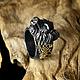 """Кольца ручной работы. Кольцо из серебра 925 с сапфирами """"Мудрый Охотник"""". BlackTree (InSilver). Ярмарка Мастеров. Фото №4"""