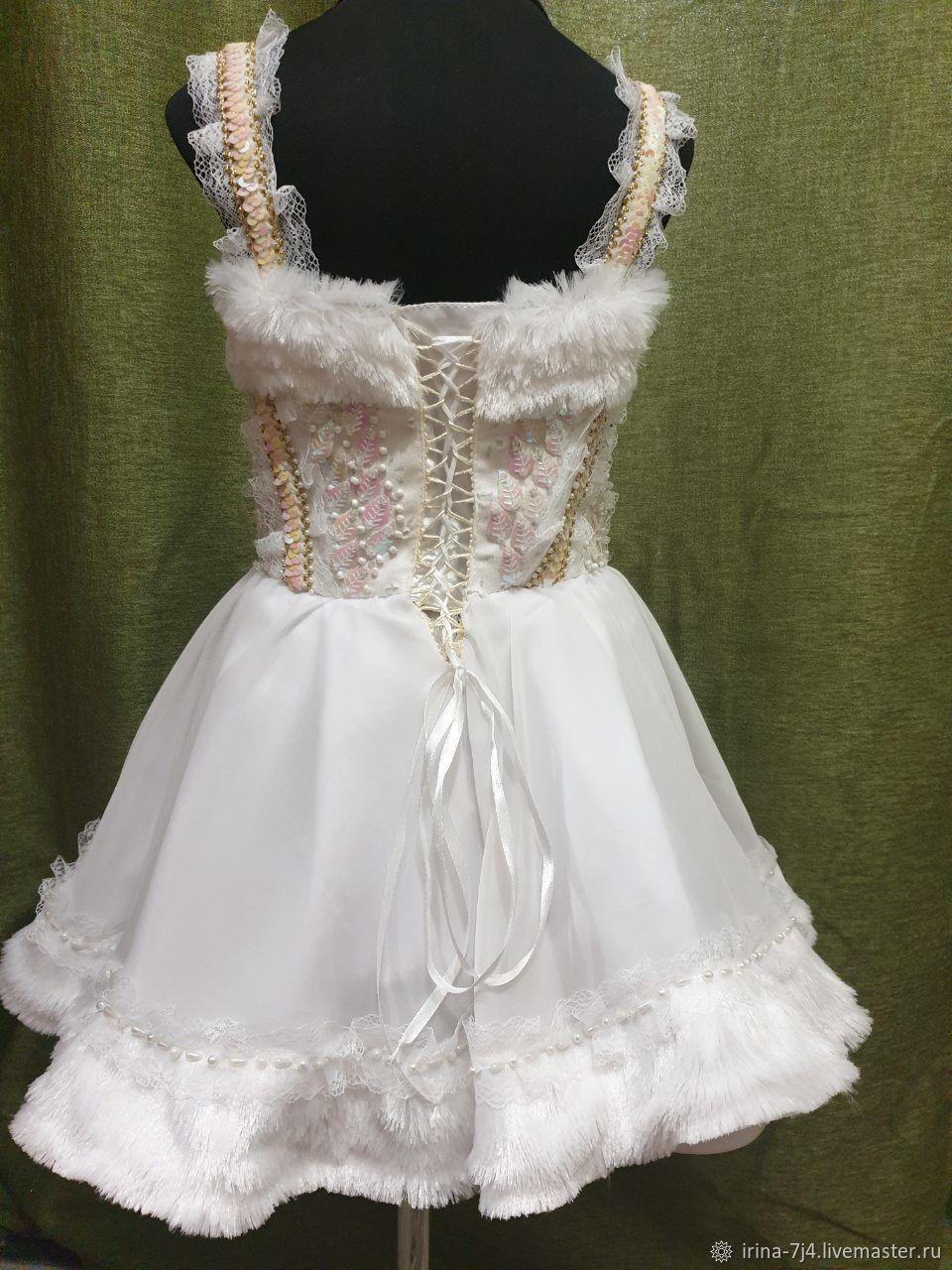 """Платье """"снег"""""""