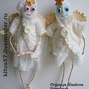 """Подарки к праздникам ручной работы. Ярмарка Мастеров - ручная работа Куколки """"Ангелочки""""(сделаю на заказ). Handmade."""