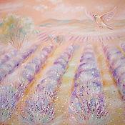 Картины и панно ручной работы. Ярмарка Мастеров - ручная работа Lavender. Handmade.