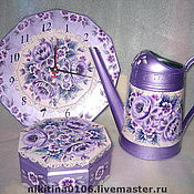Для дома и интерьера ручной работы. Ярмарка Мастеров - ручная работа сиреневое настроение. Handmade.