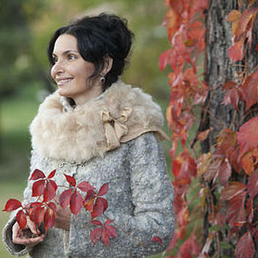 """Одежда ручной работы. Ярмарка Мастеров - ручная работа Зимнее пальто ручной работы """"Autumn Mist"""". Handmade."""