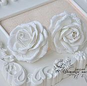 Работы для детей, ручной работы. Ярмарка Мастеров - ручная работа Резиночки с розами. Handmade.