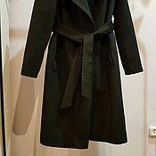 Одежда ручной работы. Ярмарка Мастеров - ручная работа Зимнее пальто черное. Handmade.