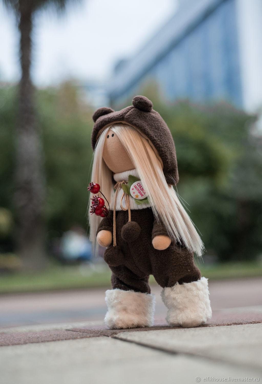 Интерьерная кукла Ингрид, Тыквоголовка, Сочи,  Фото №1