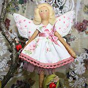 Куклы и игрушки ручной работы. Ярмарка Мастеров - ручная работа текстильная кукла фея-бабочка. Handmade.