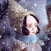 Куклы и игрушки ручной работы. Ярмарка Мастеров - ручная работа Колекционная кукла Глашенька. Handmade.