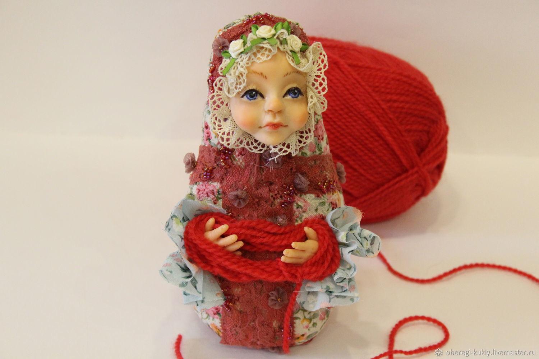 Обережная кукла-Матрешка Доля, Кукла-оберег, Железногорск,  Фото №1