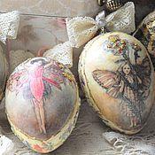 Подарки к праздникам handmade. Livemaster - original item Easter eggs,Spring is a time of fairies,. Handmade.