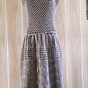 Платья ручной работы. Ярмарка Мастеров - ручная работа Льняное платье. Handmade.