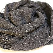 Аксессуары handmade. Livemaster - original item Woven tweed scarf. Hand weaving.. Handmade.