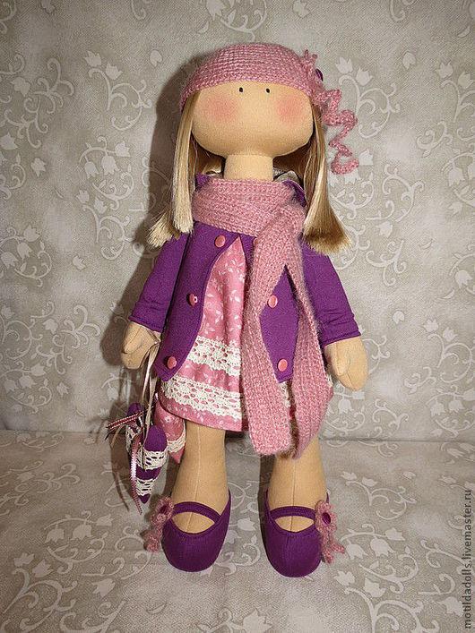 Человечки ручной работы. Ярмарка Мастеров - ручная работа. Купить Текстильная кукла НЕЛЛИ. Handmade. Текстильная кукла, оригинальный подарок