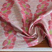 Костюмно-плательная ткань-шанель с печатью  BLUMARINE