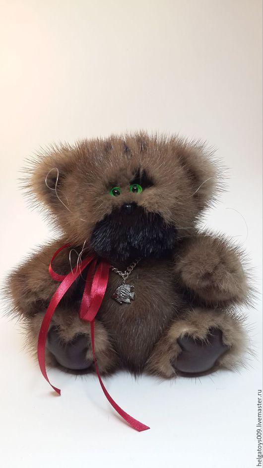 """Мишки Тедди ручной работы. Ярмарка Мастеров - ручная работа. Купить Кот """"Стэнфорд"""". Handmade. Коричневый, друзья мишек тедди"""