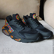handmade. Livemaster - original item Painting on shoes. Sneakers