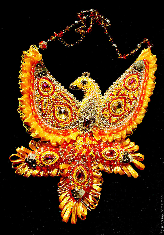 The Firebird talisman, Necklace, Kishinev,  Фото №1