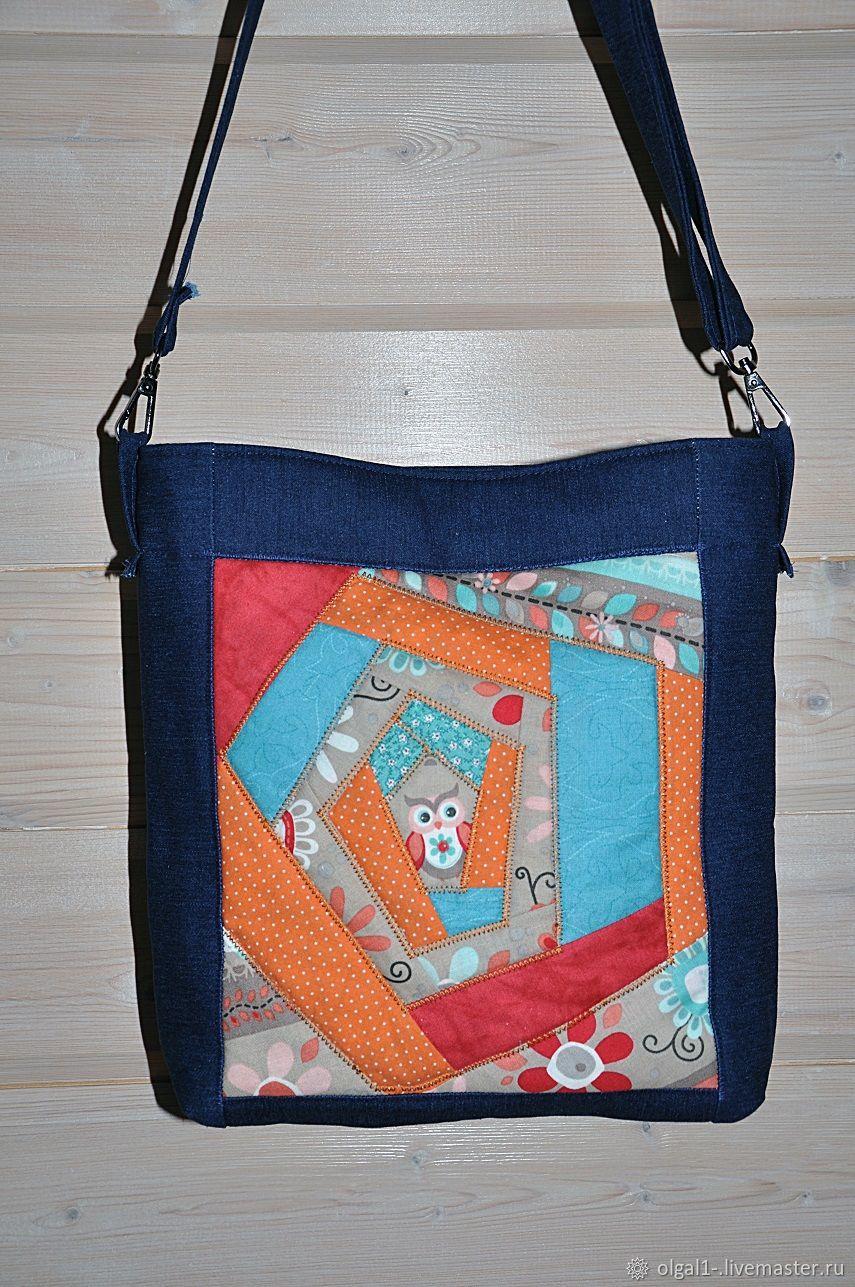61bf80aac51f Женские сумки ручной работы. Ярмарка Мастеров - ручная работа. Купить  лоскутная сумка.