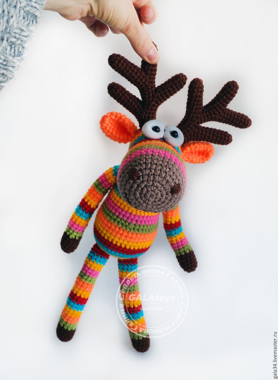 Crochet knitted toys