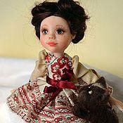 Куклы и игрушки ручной работы. Ярмарка Мастеров - ручная работа Брюнеточки. Handmade.