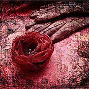 Украшения ручной работы. Ярмарка Мастеров - ручная работа Цветы для Настеньки. Handmade.