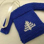 Подарки к праздникам ручной работы. Ярмарка Мастеров - ручная работа Новогодняя игрушка свитер. Handmade.