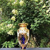 Винтаж handmade. Livemaster - original item Vase, glass