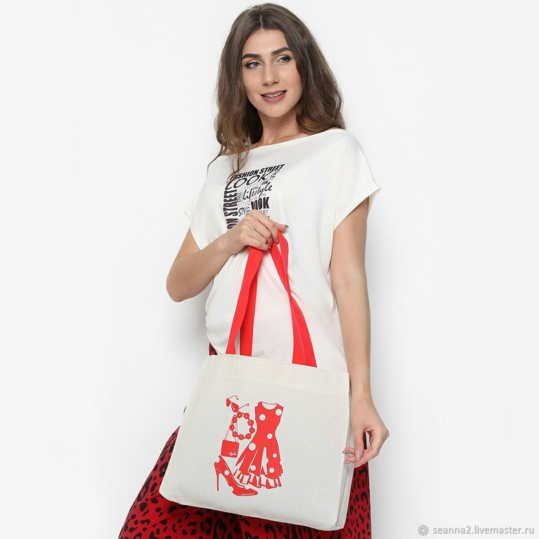 "Холщовая сумка ""Fashion every day"", Сумки, Воронеж, Фото №1"