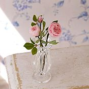 Куклы и игрушки handmade. Livemaster - original item English roses in the scale 1: 12. Handmade.
