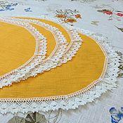 Для дома и интерьера handmade. Livemaster - original item Landmat,napkin oval