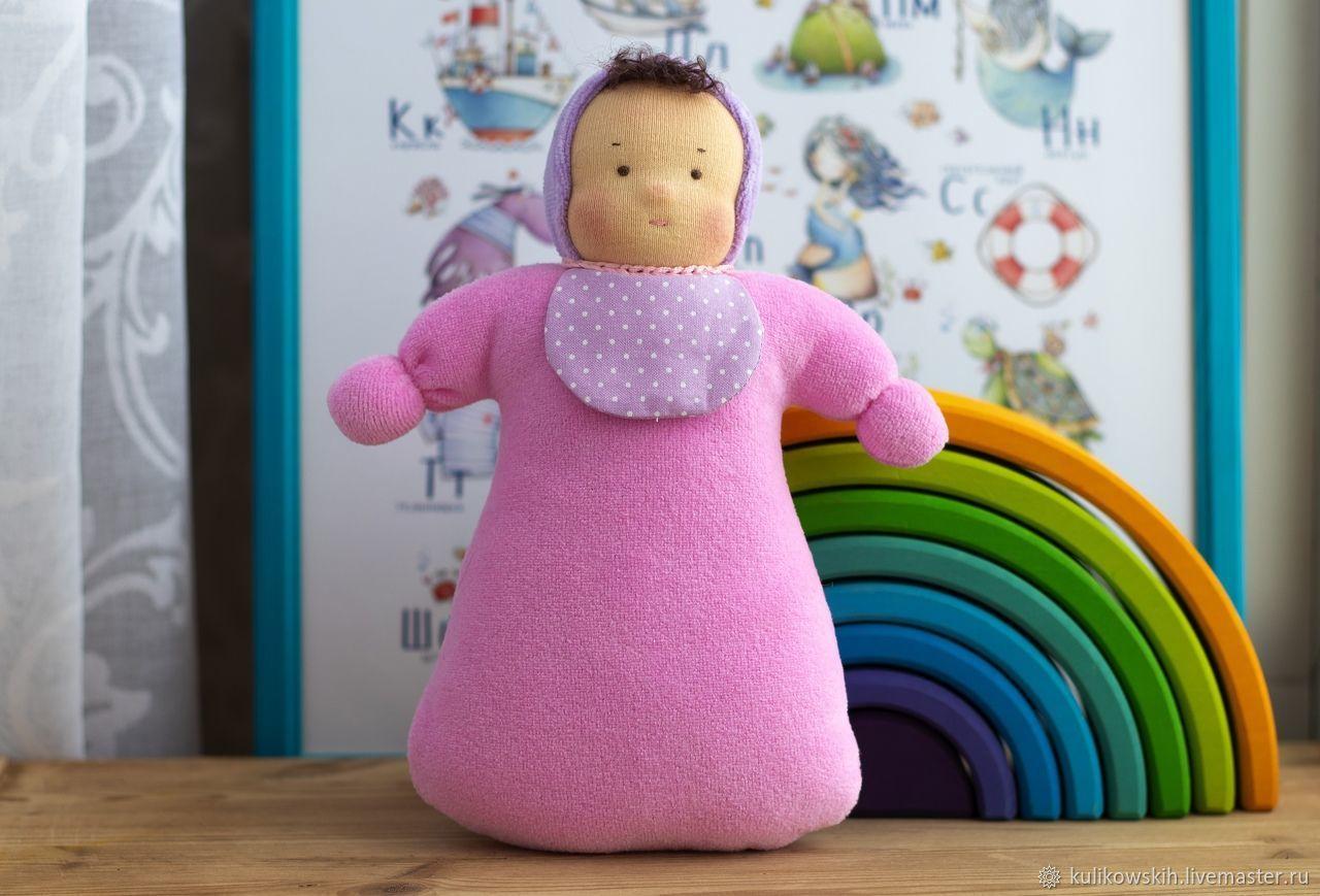 Вальдорфская кукла Малыш,23 см, Вальдорфские куклы и звери, Советский,  Фото №1