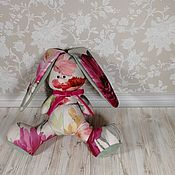 Мягкие игрушки ручной работы. Ярмарка Мастеров - ручная работа Заяц Цветочный. Handmade.