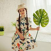 """Работы для детей, ручной работы. Ярмарка Мастеров - ручная работа Летнее платье """"Paradise"""". Handmade."""
