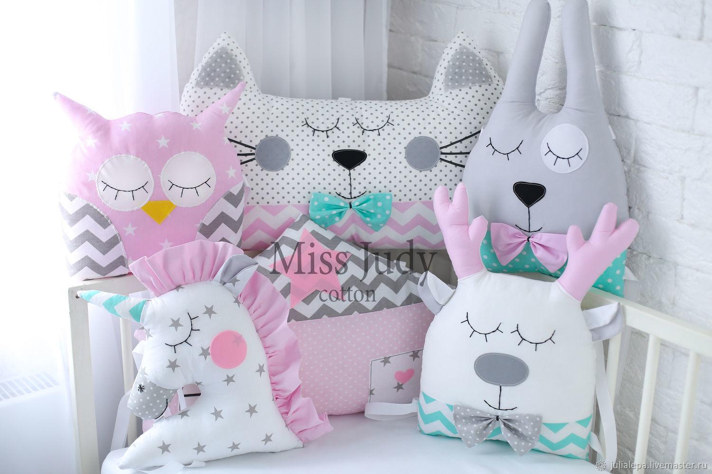 Как сделать из подушки животные