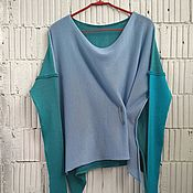 Одежда handmade. Livemaster - original item KN_003_IBG Blouson 3-x coloured. Handmade.