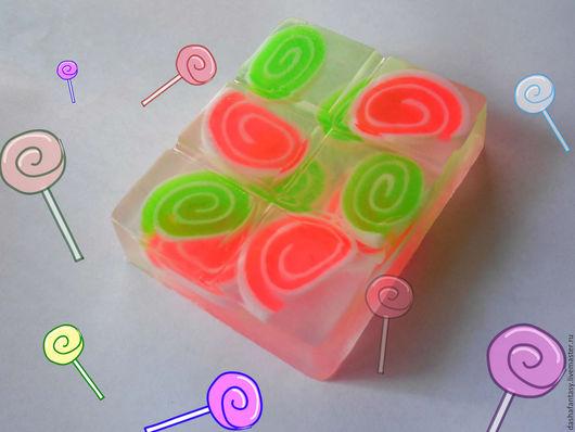 """Мыло ручной работы. Ярмарка Мастеров - ручная работа. Купить Мыло ручной работы """"Конфетное"""" с глицерином для деток-конфеток. Handmade."""