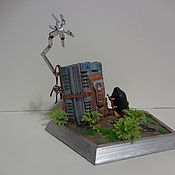 Custom handmade. Livemaster - original item Death Stranding diorama figurine. Handmade.