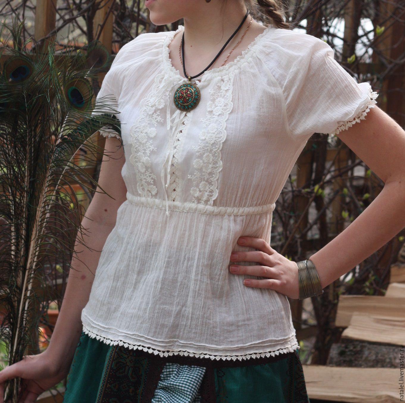 Блузки из марлевки в Уфе