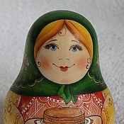 """Куклы и игрушки ручной работы. Ярмарка Мастеров - ручная работа Неваляшка """"Приглашаю на блины"""". Handmade."""