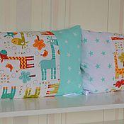 Работы для детей, ручной работы. Ярмарка Мастеров - ручная работа Бортики-подушки. Handmade.