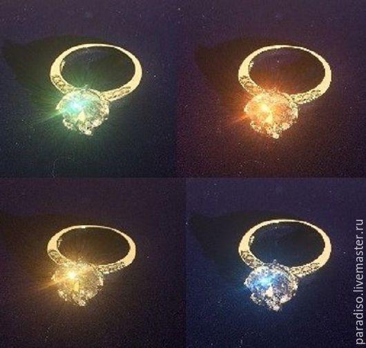 Кольца ручной работы. Ярмарка Мастеров - ручная работа. Купить ДАРИТЕ МНЕ, ДАРИТЕ БРИЛЛИАНТЫ кольцо диаметром 16 мм. Handmade.
