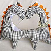 Куклы и игрушки ручной работы. Ярмарка Мастеров - ручная работа Тяни-Толкай дракон. Handmade.