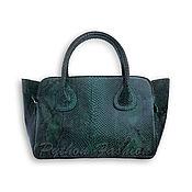 Сумки и аксессуары handmade. Livemaster - original item Copy of Python leather handbag RAPTOR. Handmade.
