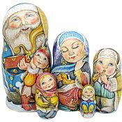 """Подарки к праздникам ручной работы. Ярмарка Мастеров - ручная работа """"Морозное семейство"""". Handmade."""