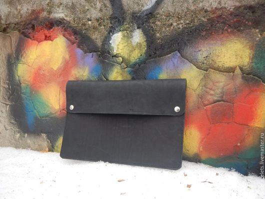 Сумки для ноутбуков ручной работы. Ярмарка Мастеров - ручная работа. Купить Кожаный чехол для ноутбука. Handmade. Кожаная сумка