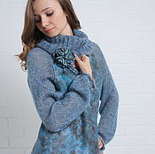 Одежда handmade. Livemaster - original item valano-knitted sweater