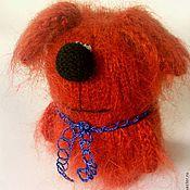 """Подарки к праздникам ручной работы. Ярмарка Мастеров - ручная работа Вязаный пёс """"Чузик"""". ( Вязаные игрушки собаки. Собака сувенир ). Handmade."""