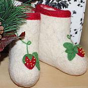 """Обувь ручной работы. Ярмарка Мастеров - ручная работа Валенки детские """"Моя ягодка"""". Handmade."""