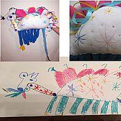 Куклы и игрушки ручной работы. Ярмарка Мастеров - ручная работа Игрушка по рисунку ребенка. Handmade.