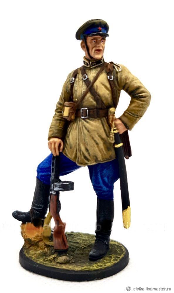 Оловянный солдатик 54мм, Военная миниатюра, Санкт-Петербург,  Фото №1
